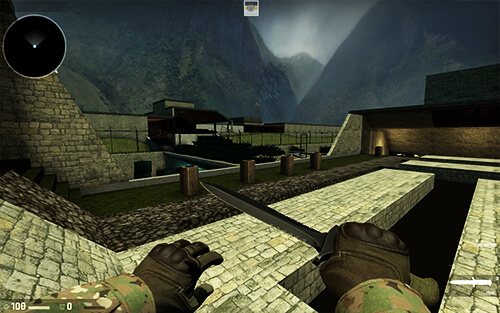 Deathrun в Counter-Strike 1.6